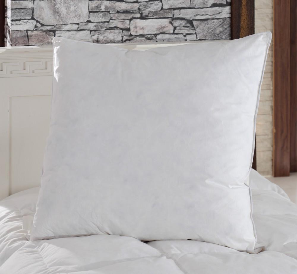 gut gef llte federkissen 80x80 natur kissen kopfkissen kissenf llung f llkissen ebay. Black Bedroom Furniture Sets. Home Design Ideas