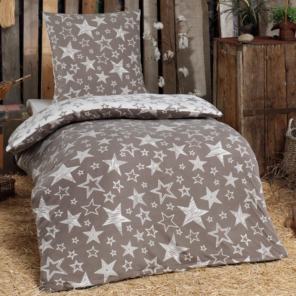 warme winter biber flanell fleece bettw sche baumwolle. Black Bedroom Furniture Sets. Home Design Ideas