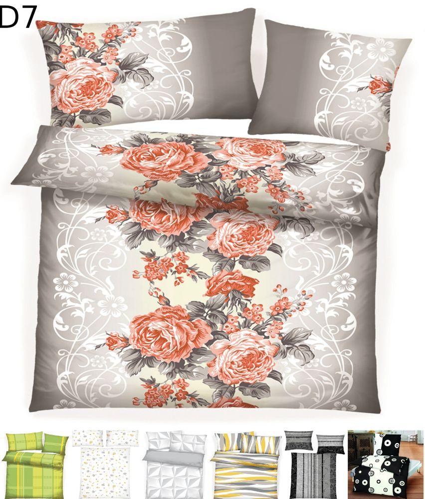 2 tlg microfaser warme winter thermo fleece bettw sche. Black Bedroom Furniture Sets. Home Design Ideas