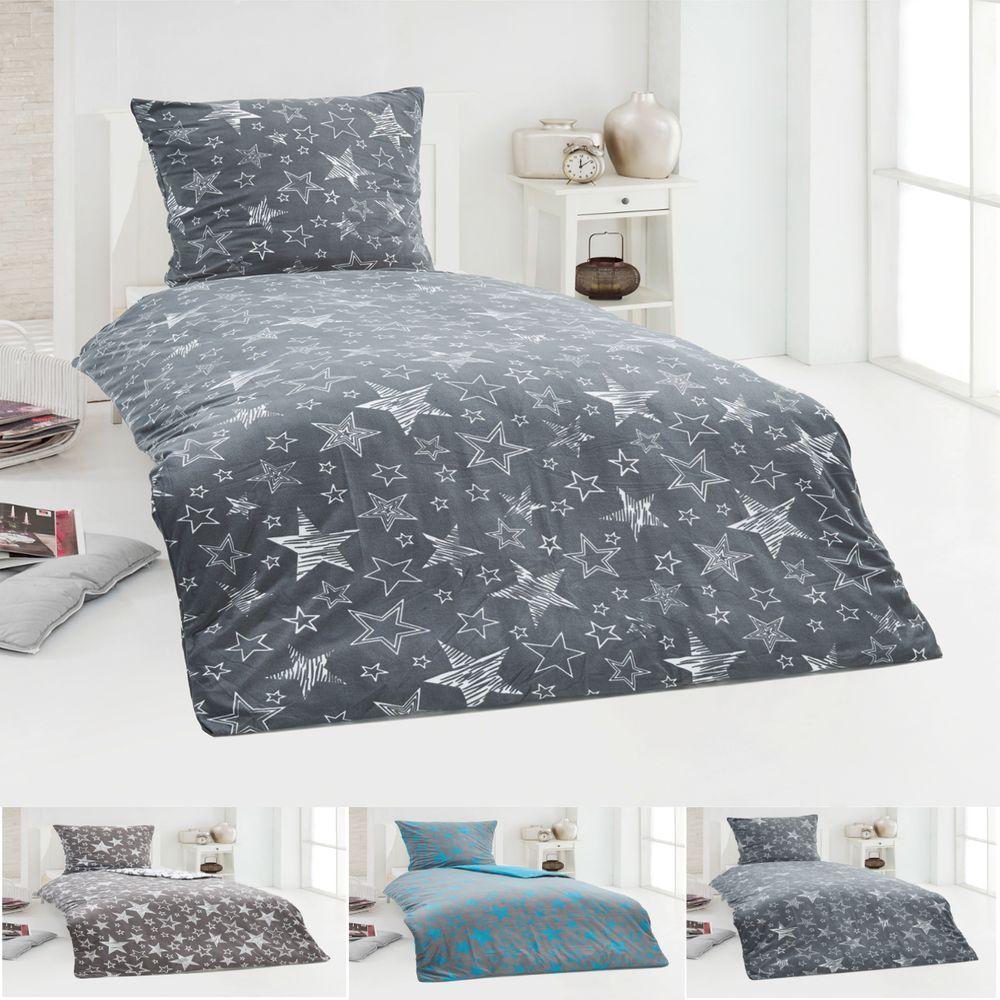 4 tlg warme winter microfaser flausch fleece bettw sche. Black Bedroom Furniture Sets. Home Design Ideas