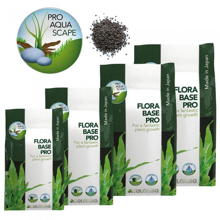 10 Liter FloraBase Pro, feines Aquarium Pflanzen-Wachstum Substrat senkt, stabilisiert PH Wert