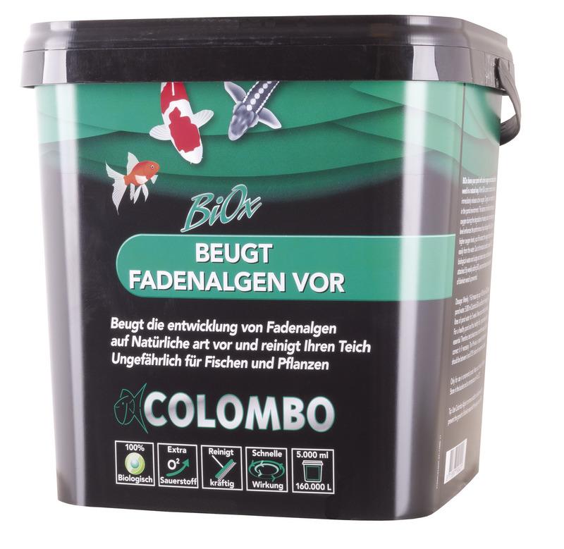 Colombo Biox beugt Fadenalgen vor
