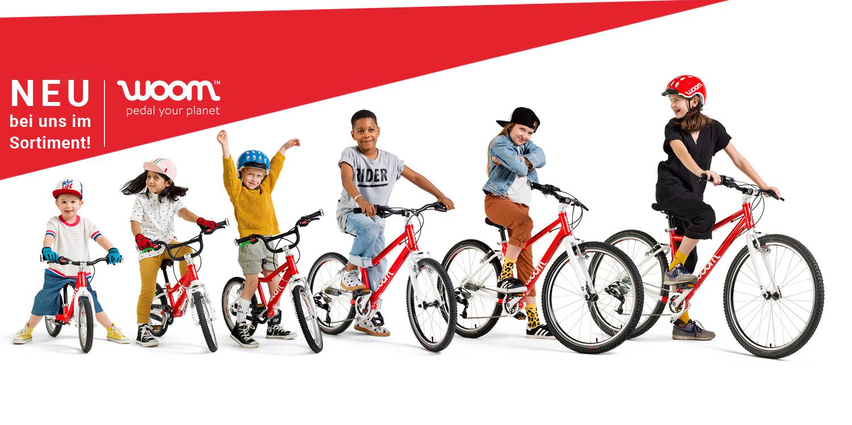 Woom Kinderräder online kaufen