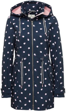 casual printsoftshell coat – Bild 1