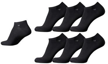 [Paket] Tom Tailor 6 Paar Sneaker Socks black schwarz Mehrpack Strümpfe Socken Füsslinge