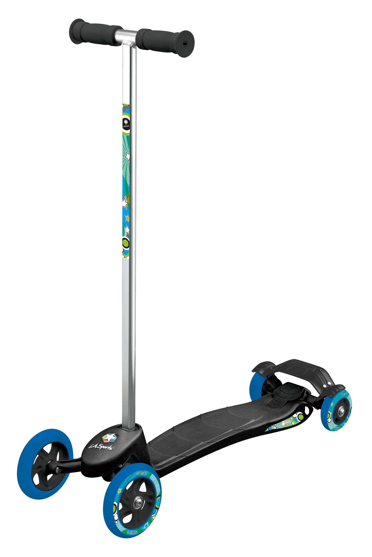 kinder quad scooter ab 3 jahre tretroller whirlwind kinderroller mit 4 r dern abec 5 kugellagern. Black Bedroom Furniture Sets. Home Design Ideas