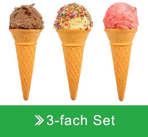 3-fach Set