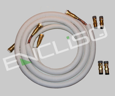 3m Kälteklimarohr Quick Connect 6/12mm