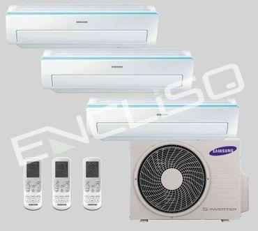 3x 2,5kW Samsung AR5500 - AJ 052 MCJ3EH/EU