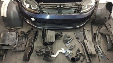 VW Golf VII 7 5G Frontpaket Motorhaube Stoßstange Kotflügel Scheinwerfer  – Bild 4
