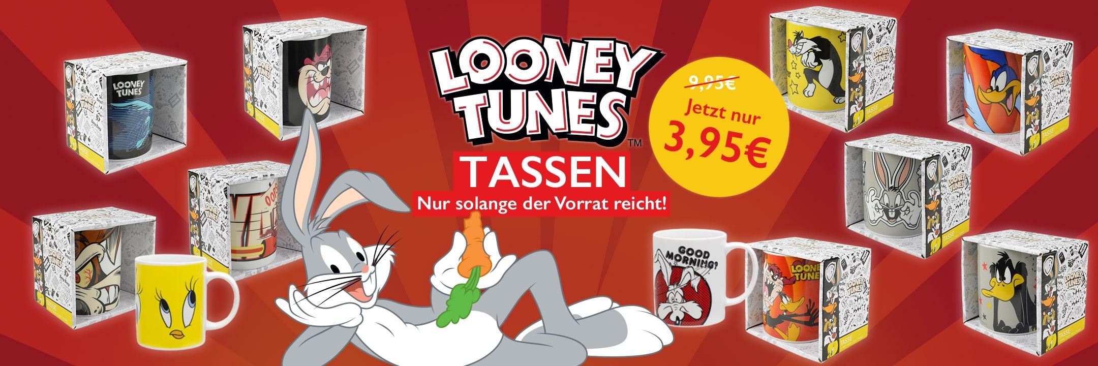 Aktion: Tassen von den Looney Tunes