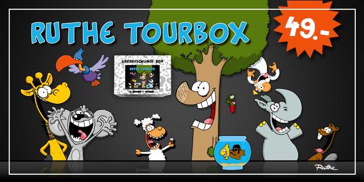 Ralph Ruthe Tourbox Überraschungsbox, 9tlg.