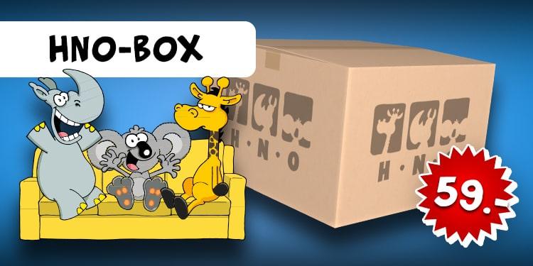 Weltpremiere: Ralph Ruthe Überraschungsbox HNO-WG, 6tlg.