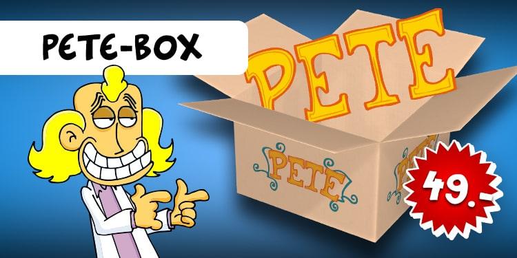 Ralph Ruthe Überraschungsbox PETE, 6tlg.