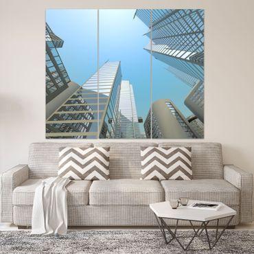 blaue Wolkenkratzer – Bild 2