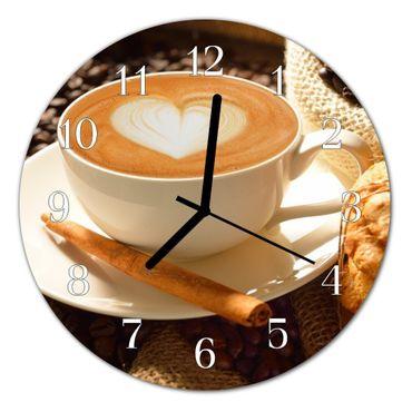 Kaffee Herz braun – Bild 2