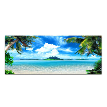 Palmen Meer – Bild 2