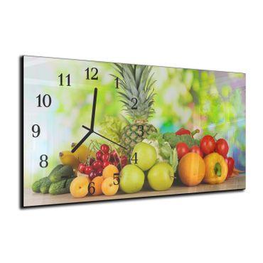 Obst und Gemüse Mehrfarbig – Bild 3