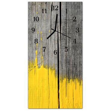 Holztafel Gelb – Bild 2