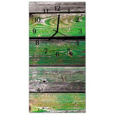 Holzbretter Grün – Bild 1