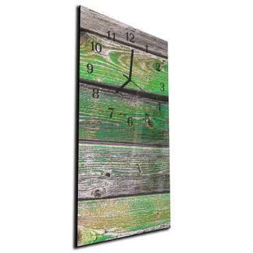 Holzbretter Grün – Bild 3