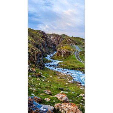 Berg Flusslandschaft – Bild 2