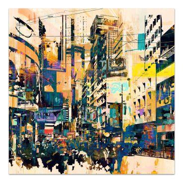 Abstraktes Stadt – Bild 2