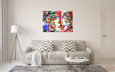 Abstrakte Malerei – Bild 5