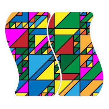 Geometrisches Design – Bild 1