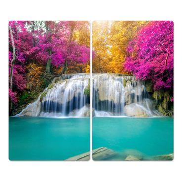 Wasserfall im Wald – Bild 2