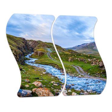 Berg Flusslandschaft – Bild 4