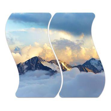 Alpine Landschaft – Bild 1