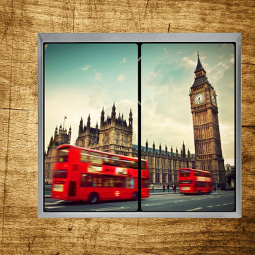 Roter Bus in London – Bild 3