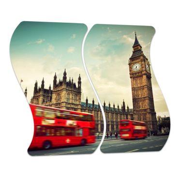 Roter Bus in London – Bild 4