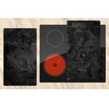 2er-Set: Abstraktion schwarz – Bild 3