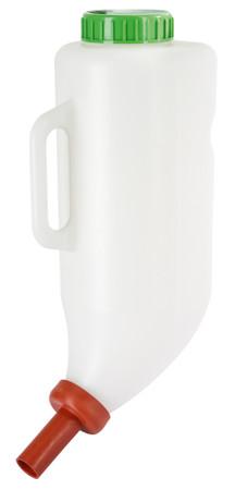 Trockenfutterflasche 4 Liter mit Trockenfuttersauger #1429