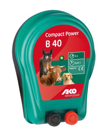 AKO Compact  Power B 40 2 x 1,5 V Batteriegerät