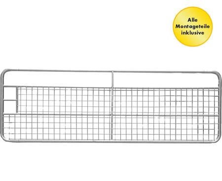 Festes Weidezauntor mit Gitter, Höhe 1 m  – Bild 2