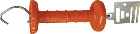 Spezial-Torgriff Breitband, Edelstahl, mit Anschlußplatte für Band bis 40 mm