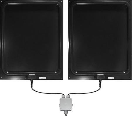 Stationäre Doppel-Antenne DAF206 mit Verbindungsbox