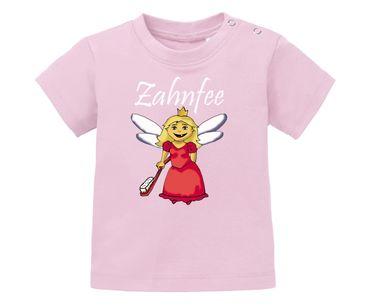 Zahnfee Logo Zahnbürste Baby Shirt – Bild 1
