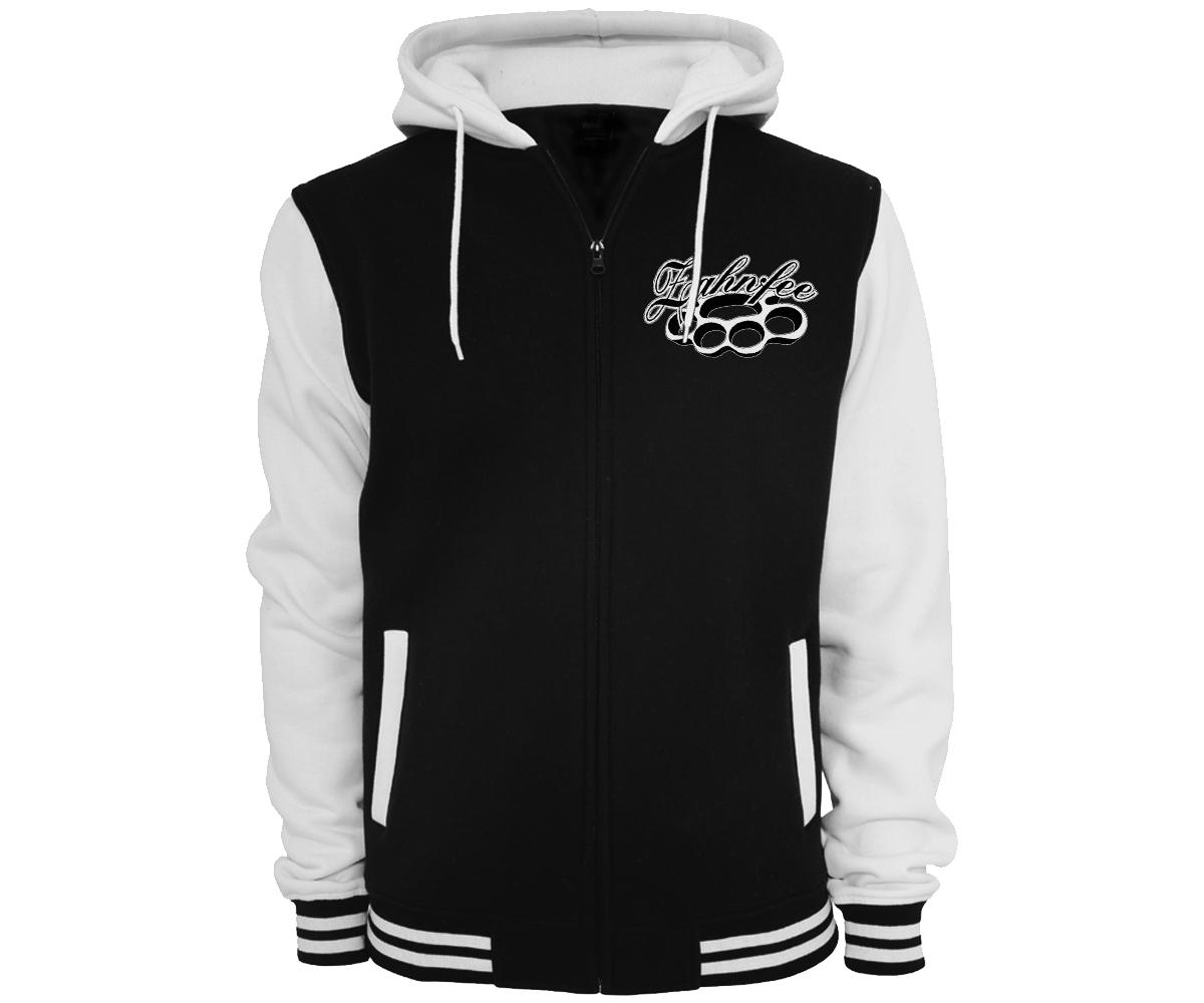 Zahnfee Edition 10 Männer Hooded College Jacke  – Bild 3