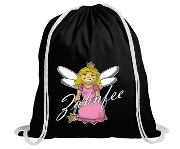 Zahnfee Logo Turnbeutel Gym Bag