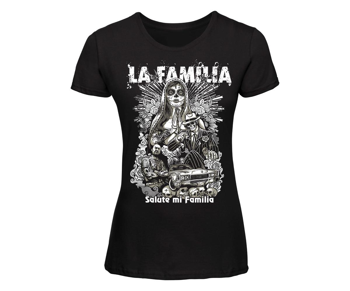 La Familia Frauen Shirt Salute mi familia – Bild 1