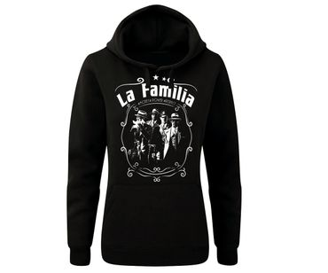 La Familia Frauen Kapuzenpullover Money Power Respect – Bild 1