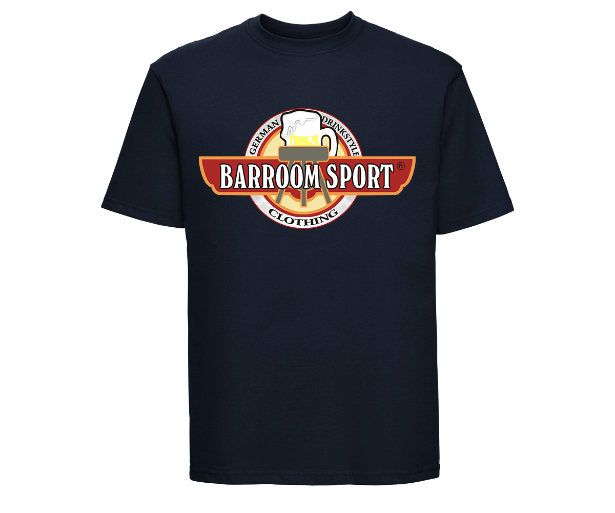 Barroom Sport Männer T-Shirt Drinkstyle Clothing Logo – Bild 6