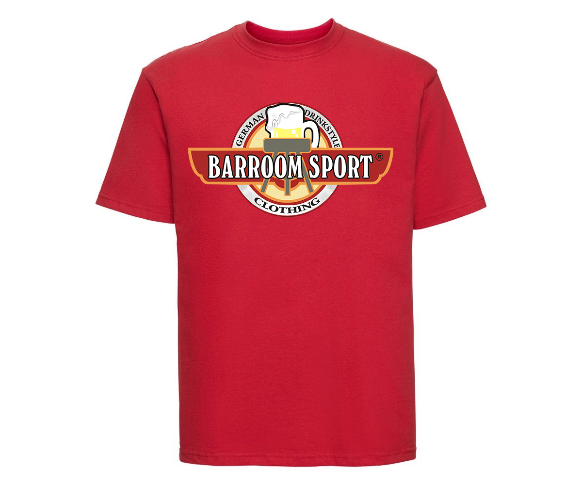 Barroom Sport Männer T-Shirt Drinkstyle Clothing Logo – Bild 3