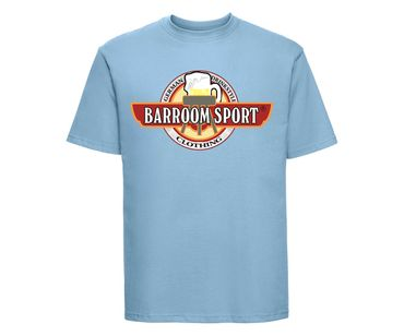Barroom Sport Männer T-Shirt Drinkstyle Clothing Logo – Bild 9