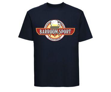 Barroom Sport Männer T-Shirt Drinkstyle Clothing Logo – Bild 6