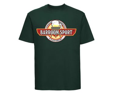 Barroom Sport Männer T-Shirt Drinkstyle Clothing Logo – Bild 7